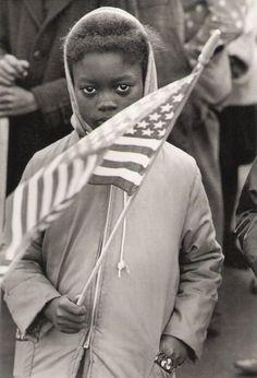 Civil Rights Protest March, North Carolina, 1961. By Declan Haun