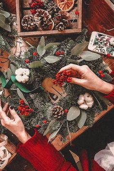 Christmas Presets Mobile Presets Bright Holiday Presets XMAS presets Winter Presets Warm Presets New Year Presets Rich Vibrant Presets Christmas Mood, Merry Little Christmas, Vintage Christmas, Christmas Crafts, Christmas Wreaths, Yule, Retro Christmas Decorations, Christmas Wonderland, Christmas Aesthetic