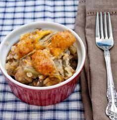 Casserole Recipe : Tater Tot Casserole for #SundaySupper