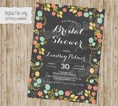 Lace Burlap Bridal Shower Invitation by SweetBeeDesignShoppe, $12.00