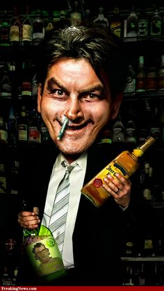 Drunk and Stoned Charlie Sheen/ I DON'T GET IT, I JUST DON'T. HE'S SO FREAKING TALENTED!!!!!!