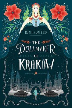 Cover Art for The Doll Maker of Krakow by Lisa Perrin www.madebyperrin.com