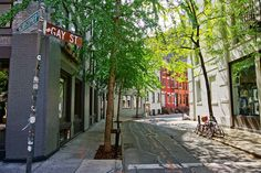 New York City Boroughs ~ Manhattan | Gay Street, Greenwich Village