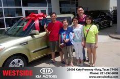 Happy Anniversary to Chi on your #Kia #Soul from Jason Taylor at Westside Kia!  https://deliverymaxx.com/DealerReviews.aspx?DealerCode=WSJL  #Anniversary #WestsideKia