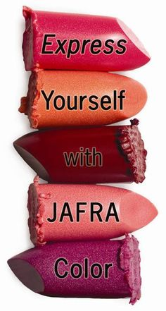 Express yourself!  #ExpressYourself #JAFRA #Cosmetics