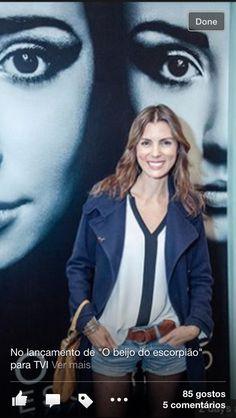 """Joana Seixas no lançamento de """"O Beijo do escorpião"""" 2013"""