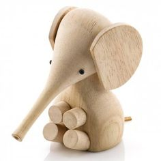 #remake || 'Baby Elephant' | oak wood | legno di rovere | original design by Gunnar Flørning with Harry Vedøe 1961 (Lucie Kaas danish design company, Gunnar Flørning collection)