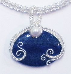 Judy Larson's Wire Wrapped Drilled Bead Pendant Tutorial ~ The Beading Gem's Journal