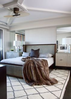 Master bedroom - Contemporary - Bedroom - Photos by Musso Design Group | Wayfair
