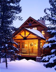 Exterior Photos - Yellowstone Log Homes LLC. windows upstairs- front door entrance