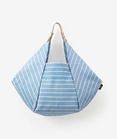 Kate Spade Saturday Origami Tote in Lined Stripe - ShopStyle Kate Spade New York® Official Site - Designer Handbags, Clothing, Jewelry & Patchwork Bags, Quilted Bag, Sacs Tote Bags, Triangle Bag, Origami Bag, Kate Spade Saturday, Boho Bags, Denim Bag, Fabric Bags