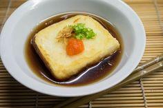 Receta japonesa casera y muy sencilla: agedashidofu o tofu frito