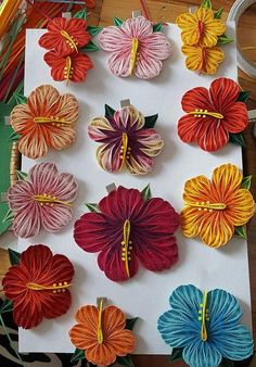 Ideas flowers design pattern paper quilling for 2019 Quilling Tutorial, 3d Quilling, Paper Quilling Flowers, Paper Quilling Patterns, Origami And Quilling, Quilled Paper Art, Quilling Paper Craft, Paper Crafts Origami, Flower Pattern Design