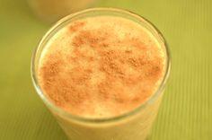 Sweet Potato Spice Frozen Latte