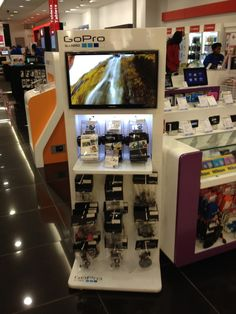 creative point of sale display go pro - Google Search