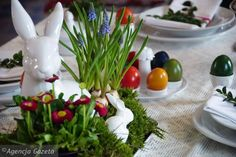 Wielkanocne ozdoby w naturalnym stylu