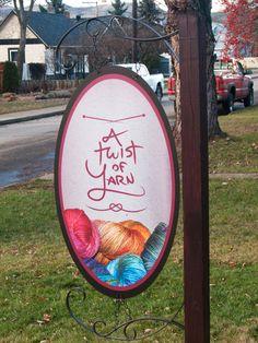 A Twist of Yarn - Branding & Website by Jesse Fletcher