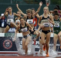 2012 Olympic Track Trials: Day 4 - Track & Field Slideshows (Photo: Charlie Riedel / Associated Press)