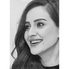 Pencil Sketch Portrait, Pencil Sketch Drawing, Pencil Art Drawings, Art Sketches, Amazing Drawings, Realistic Drawings, Beautiful Drawings, Indian Art Paintings, Turkish Beauty