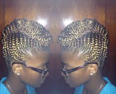 BLOND CORNROWS KINKY,CURLY,RELAXED,EXTENSIONS BOARD