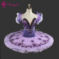 Adult purple professional tutu classical ballet tutu ballerina costume tutu danceBT9092