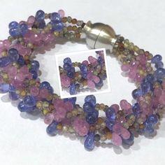 Vienna, Gold, Beaded Bracelets, Jewelry, Fashion, Personalized Ornaments, Beaded Jewelry, Gems, Jewellery Making