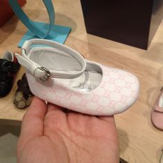 Baby Gucci Shoe.. my daughter will..