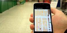 Navigating a supermarket with IndoorAtlas' IPS