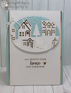 I used the Hearts Come Home stamp set bundle from Stampin' Up! to create my card for the Happy Inkin' Thursday Blog Hop today.  We've got a sketch challenge this week and this is what I created for…
