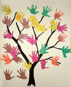 podzimni vyrobky podzim  : Podzimní tvoření s dětmi   barevné listí
