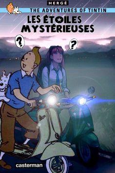 Les Aventures de Tintin - Album Imaginaire - Les Étoiles Mystérieuses