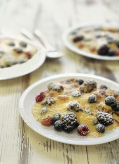 Mixed Berries with Sabayon
