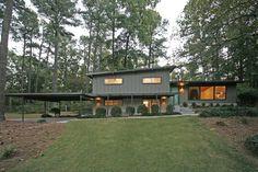 .mid-century modern exterior