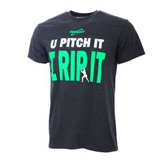 Show off your style and skills with this GIMMEDAT fastpitch t-shirt. All GIMMEDAT softball shirts are engineered with the athlete in mind.