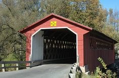Silk Road Bridge in Bennington, Vermont