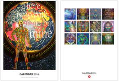 'Topics for Contemplation - Calendar Calendar by karmym Calendar 2014, Yoga, People, Painting, Art, Art Background, Painting Art, Kunst, Paintings