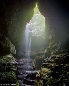Stephens Gap Cave in north Alabama