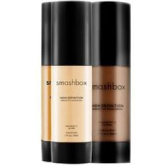 Smashbox foundation gives excellent coverage, but this brand has very yellow undertones and does not have the perfect shade for everyone. ABSOLUTELY try this on your face in the store before you buy it to make sure its the right color
