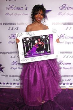 Red-Carpet Backdrop and Poster designed by Rochelle Redd of StudioRochelleCreative.