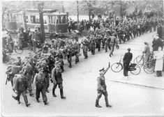 German Army Leaving Odense