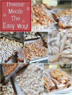 Freezer Meals the Easy Way! Process 40 lbs of chicken in 2 hours or less. ~ Faith Filled Food for Moms