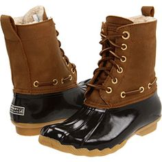 GIMME GIMME GIMME FOR XMAS. Sperry Top Sider Tan/dark brown.
