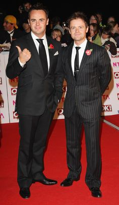 Ant and Dec's single Let's Get Ready To Rhumble has topped the UK charts Declan Donnelly, Ant & Dec, Uk Charts, Britain Got Talent, Tv Presenters, Handsome Man, Celebs, Celebrities, Just Amazing