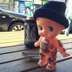 Doll Tattoo, London Tattoo, Full Body Tattoo, Tattoo Magazines, Baby Tattoos, Good Cause, Simple Art, Beautiful Dolls, Tattoo Artists
