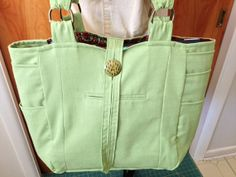 Upcycled Suit Tote Bag by pinkamingo on Etsy, $55.00