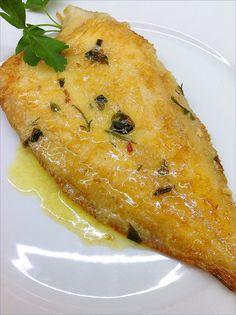 Salsa and recetas on pinterest - Lenguado al microondas ...
