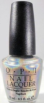 OPI Standing Room Only Silver~SRO~ Holiday On Broadway 2003~ O.P.I. Holographic