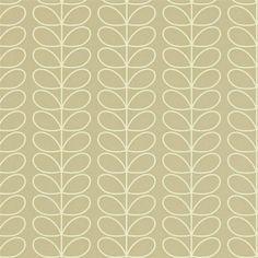 Stone - 110397 - Linear Stem - Orla Kiely - Harlequin Wallpaper