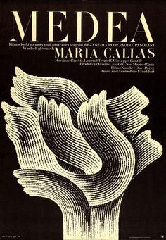 """Medea"" polish poster"