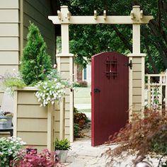 Quaint Garden Gate